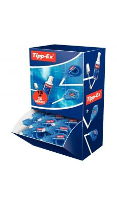 TIPP-EX - Roller de correction Easy Correct 12M - Pack de 20