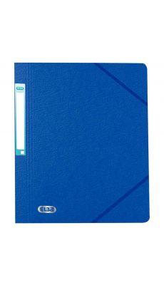 L'OBLIQUE - 100200284 - Chemise simple avec élastique. Sans rabat. Coloris bleu