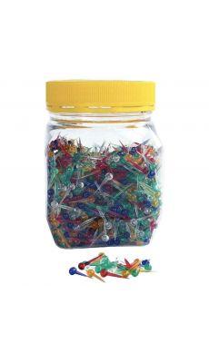 Epingles en plastique - Bocal de 100g