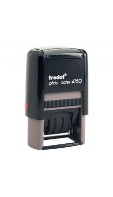Timbre dateur à personnaliser Printy 2 lignes 41x24mm
