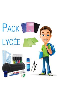Pack fournitures lycée