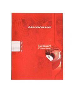 Clairefontaine - 563 - Cahier musique et chant grand carreaux - 17x22 cm - 48 Pages