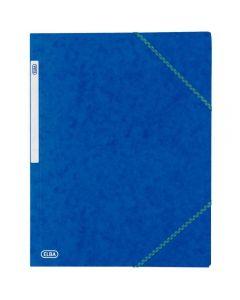 Chemise 3 rabats a elastique carte lustrée 5/10eme bleu