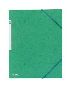 Chemise 3 rabats a elastique carte lustrée 5/10eme vert