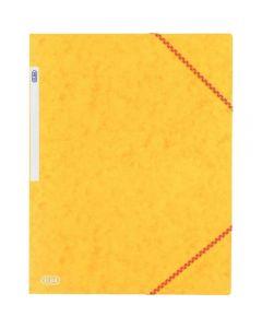 Chemise 3 rabats a elastique carte lustrée 5/10eme jaune